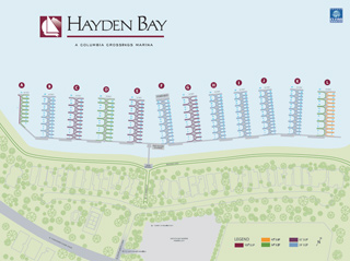 Hayden Bay Map