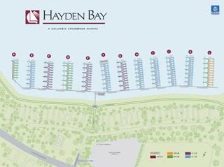 Hayden Bay Map