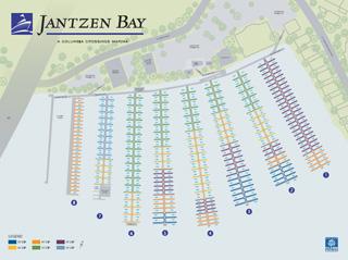 Jantzen Bay Map
