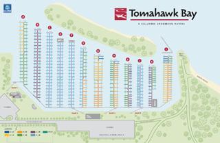 Tomahawk Bay Map